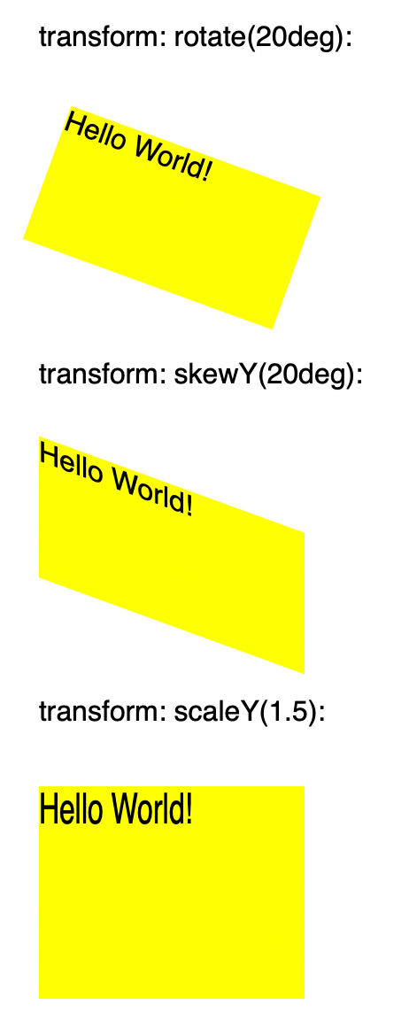 PD4ML – CSS Transform Property Supported